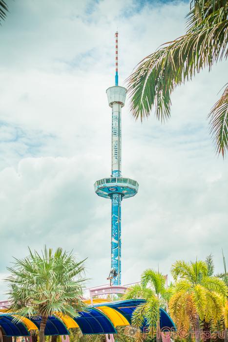 Башня Si-Am Tower в Сиам Парк Сити в Бангкоке