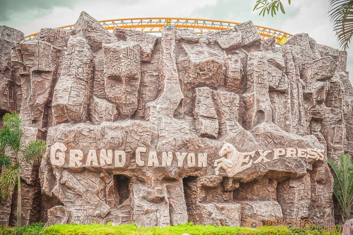Grand Canyon Express в Сиам Парк Сити в Бангкоке