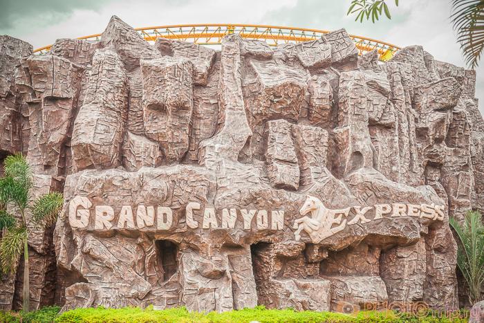 Grand Canyon Express в Сиам Парк Сити в Бангкоке