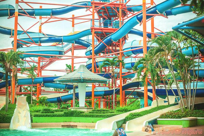 Super Spiral в Сиам Парк Сити в Бангкоке