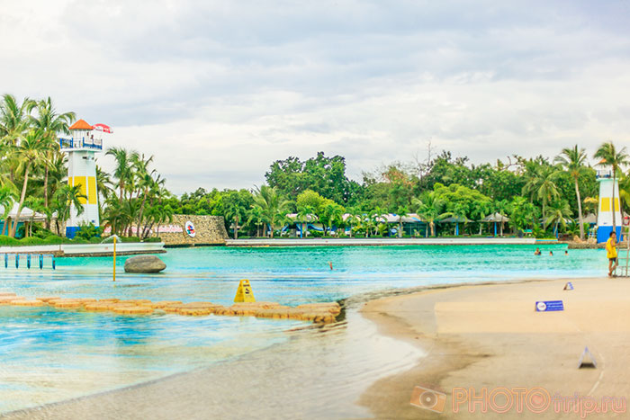 Wave Pool в Сиам Парк Сити в Бангкоке