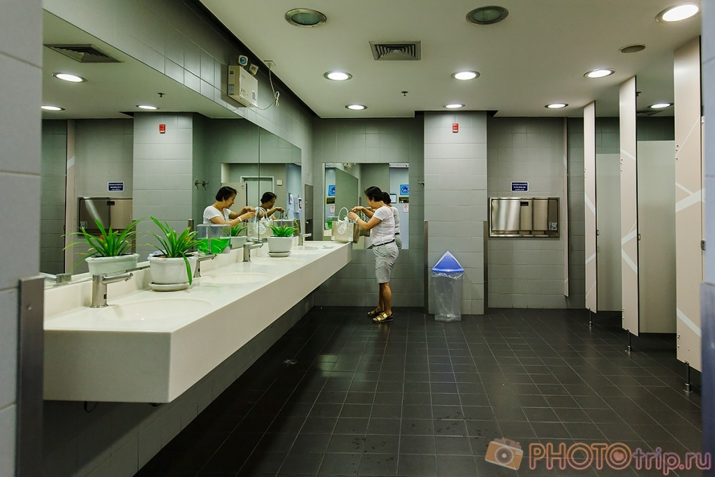 Бангкокский туалет для сравнения