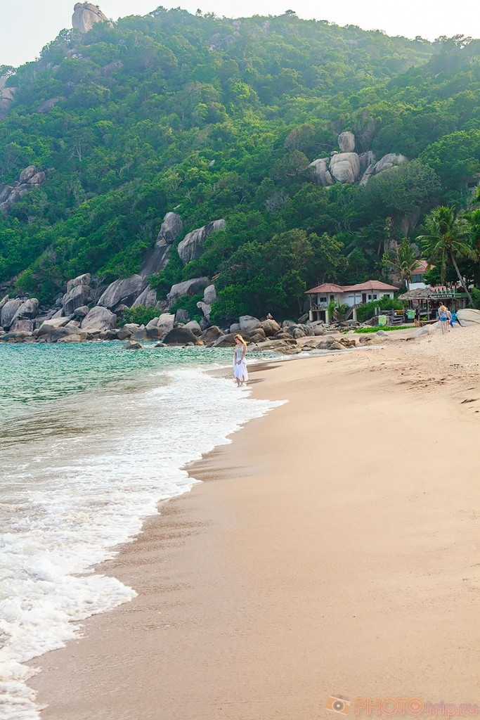 Прогуливаюсь по пляжу